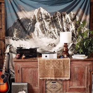 Other - Frosty Snowcap Mountain Wall Tapestry